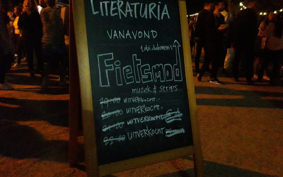 Literaturia dag 9: Tobi Dahmen – Fietsmod